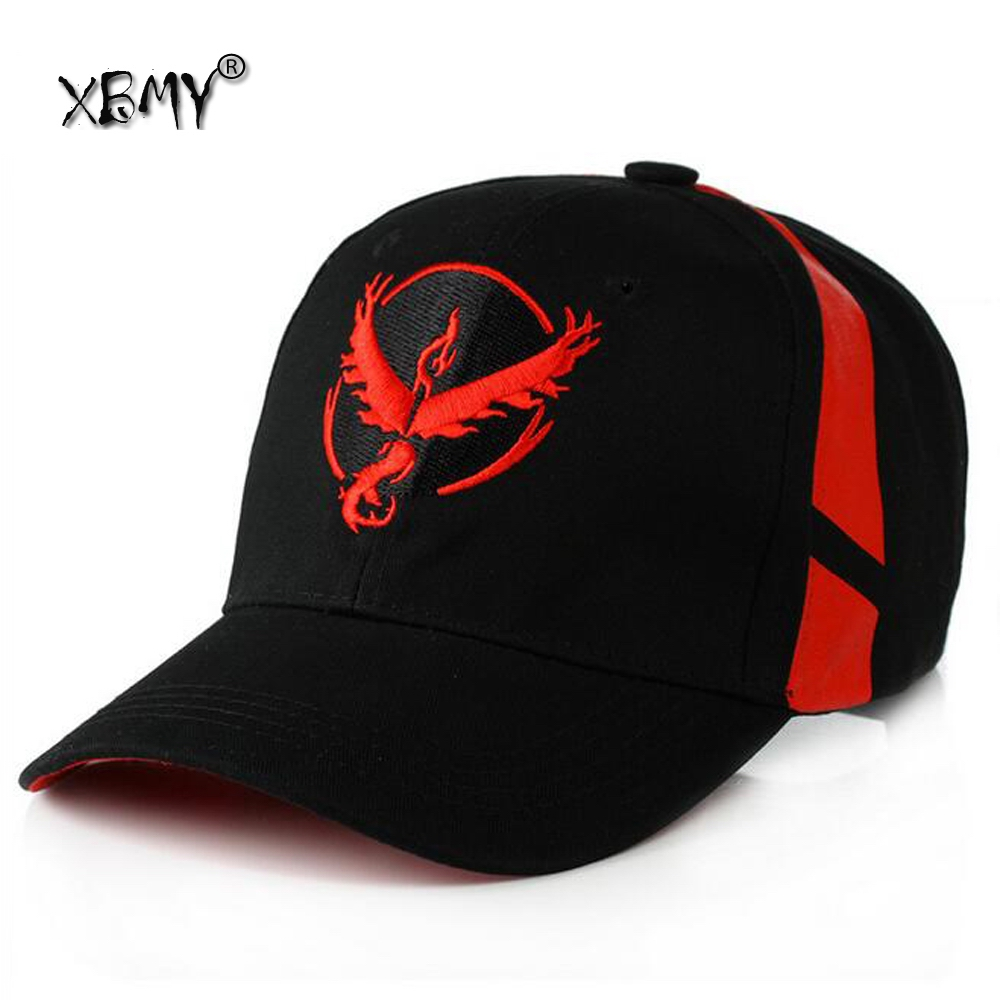 Black Baseball Cap Men Snapback Pokemon Hat Women  Pokemon Go Cap Hat Team Valor Team Mystic Team Instinct Pokemon Cap Go Team куплю цех по изготовлению колбасных изделий