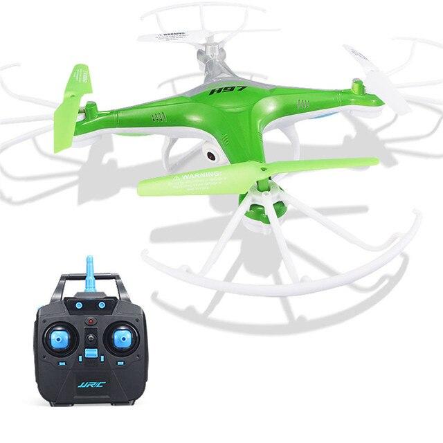 Заводская цена Высокое Качество JJRC H97 2.4 ГГц 4CH 6-осевой СВЕТОДИОДНЫЕ С Камерой RC Мультикоптер Drone Nov15