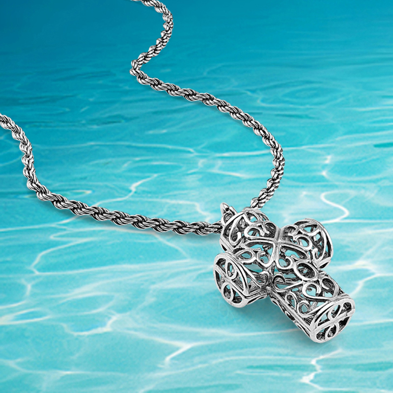 11bdcba6c1f8 இModa vintage plata colgantes collar