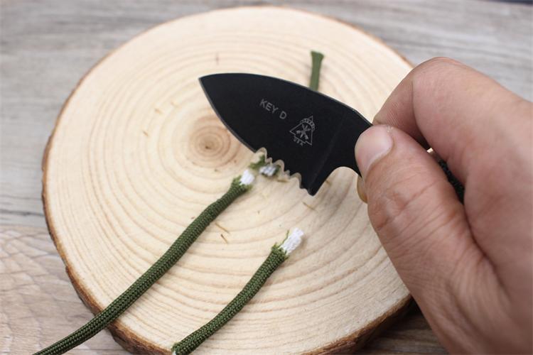 karambit nyak kés valódi harci harci tábor túra szabadtéri - Kézi szerszámok - Fénykép 6