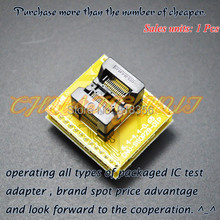 SSOP28  adapter conversion seats tssop28 to dip28 Apply ssop8 ssop14 ssop16 ssop20 ssop24 IC socket Programmer