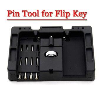 Envío Gratis herramienta de fijación de llave flip llave Vice de llave Flip-key Pin removedor (1 pieza)