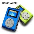 Спорт Mp3-плеер с ЖК-Экраном/Металл Мини Clip Металл Многоцветный Портативный MP3 Music Плеер с Micro TF/Слот Для Карты SD