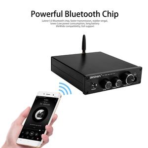 Image 5 - AMPLIFICADOR DE POTENCIA BRZHIFI HiFi TPA3116, con Bluetooth 5,0, ES9018K2M APTX, DAC, estéreo, Clase D, 100W * 2, para teatro de sonido