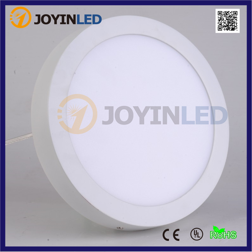 Free shipping AC85-265V round 18W led panel light surface mounted ceiling down light warm white circle no cut led lamps for home zy 18w 1900lm 6500k 36 led white light round ceiling lamp source module white 85 265v 2 pcs