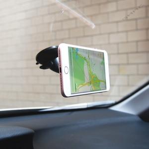 Image 4 - ユニバーサル磁気カーホルダーフロントガラス自動車電話ホルダーマグネットスタンドマウントサポートgpsディスプレイブラケット 360 回転式ホルダー
