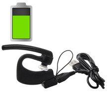 Fone de Ouvido Cabo para Plantronics Bluetooth USB Adaptador Cradle de Carregamento Carregador Cord Voyager Lenda Headset Preto Novo