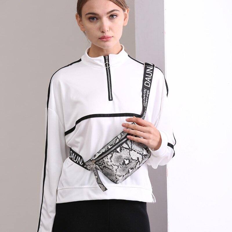 SWDF New Serpentine Chest Bag Lady Fashion Designer Belt Chest Package Mini Diagonal Women's Bag Luxury Belt Package Waist Pack