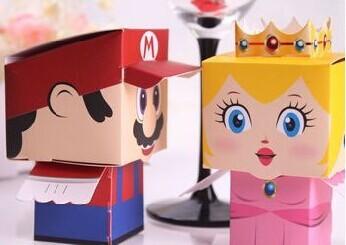Caja de dulces con personalidad de princesa, para novia y novio, 50...