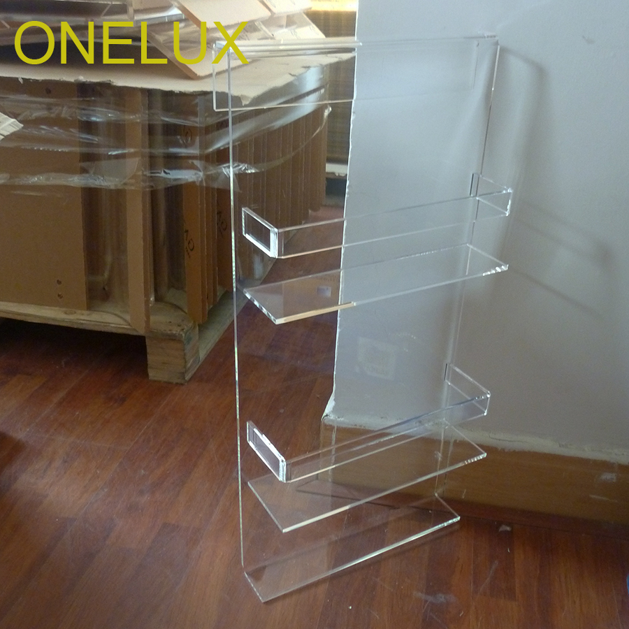 Clear Acrylic Shower Caddy,Acrylic Bathroom Storage Rack-in Storage ...