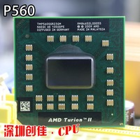 Original AMD Turion II Dual Core Mobile P560 TMP560SGR23GM 2 5G 2M 25W P560 Laptop CPU