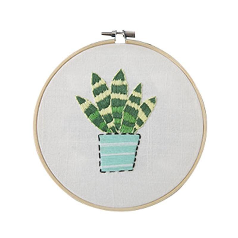 Bordado obras de punto de cruz kit Costura artesanía planta y flor ...