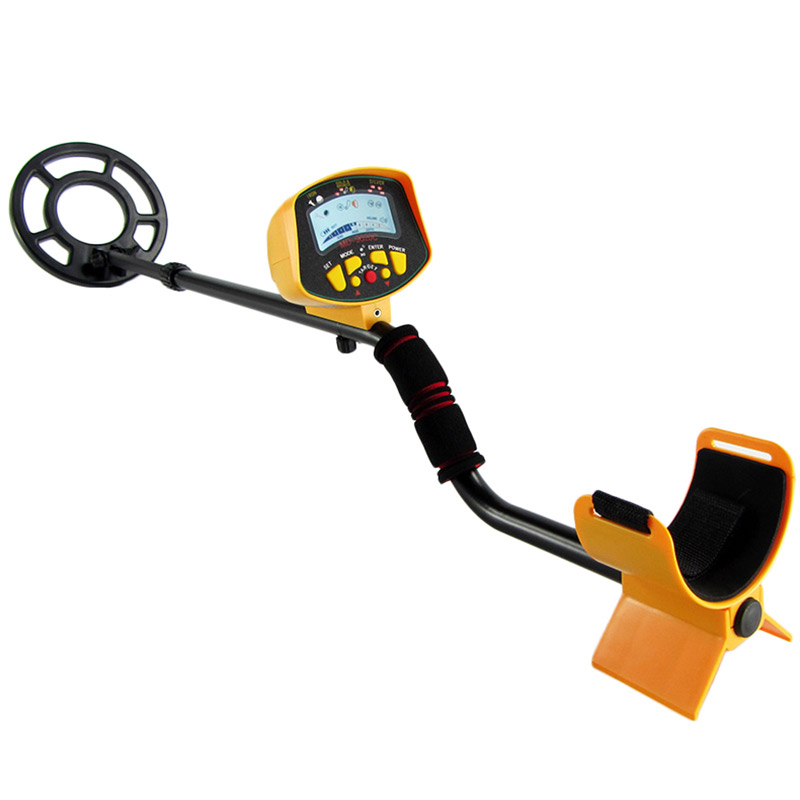 Metal Detector Professional Outdoor Treasure Hunt Exploration Sensitive Underground Metal Detectors With Backlit LCD Display