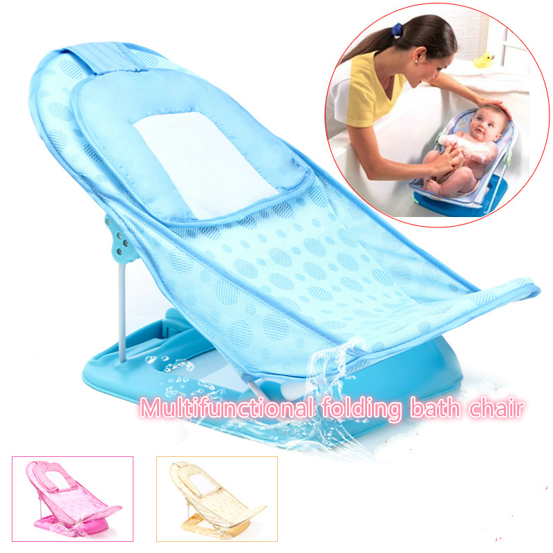 Babymultifunctional Folding Bath Chair Newborn Baby Safe Shower ...