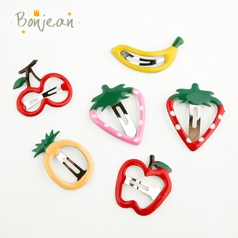 6 pieces/a lot Fruits Kids Party Gifts Hairgrips Girls Cute Hair Clip Ice cream Hairpin Hair Accessories Hair Accessories    - AliExpress
