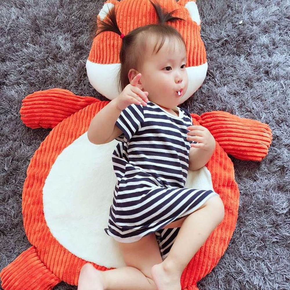 high quality child climb pad cute elephant fox plush animal baby play mat  baby gym mat children developing carpet toy baby toy (13)