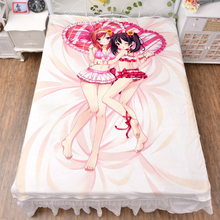 Japanese Anime love live Nico Yazawa Maki Nishikino  Bed Blanket Throw Blanket Bedding Coverlet Cosplay Gift все цены