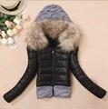Новые зимние женщины дамы пальто теплая шерсть крышка шить свитера конфеты цвет женские куртки и пиджаки vetement JT354