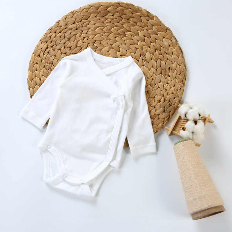 2pc/3pcs/5pcs baby clothes bodysuit boys clothes girl clothes kids long sleeves 100% cotton overalls white baby newborn bodysuit