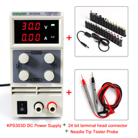 Current limiting protection Low noise Dual voltage input dc power Supply+24 bit terminal head connector+Needle Tip Tester Probe