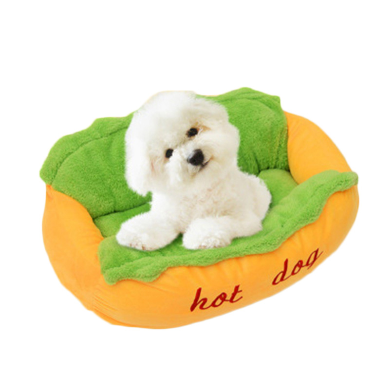 Hot Dog Bed Pet Winter Beds Fashion Sofa Cushion Supplies Warm Dog House Pet Sleeping Bag Cozy Puppy Nest Kennel Cats Houses