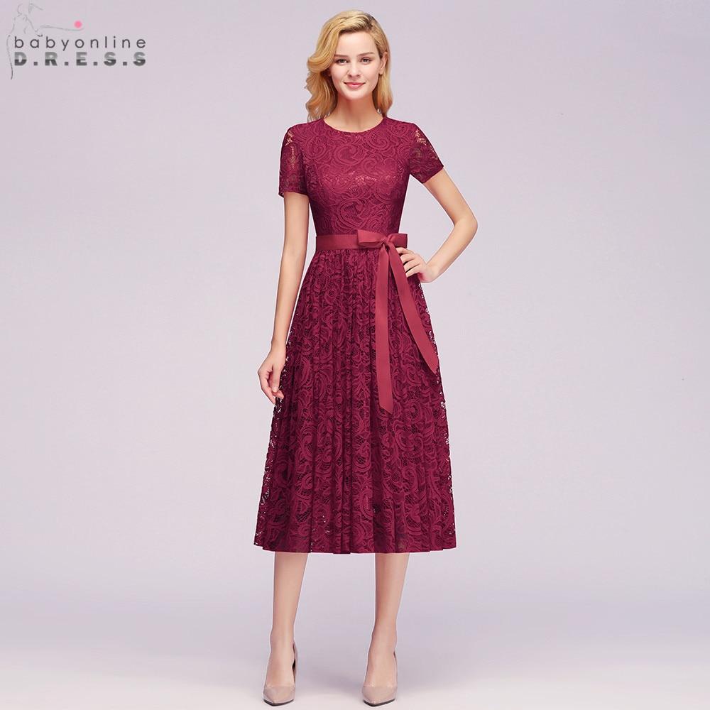Plus Size 26W Lace Short Evening Dress Cheap Short Sleeve Evening Gowns Short Evening Party Dreses Robe De Soiree Courte