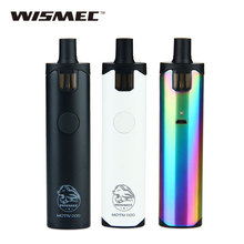Original 50W WISMEC Motiv POD Kit 50W/2200mAh Battery E-cigarette Vape Kit Motiv POD 4ml Cartridge Tan All In One Vs Ego Aio Kit