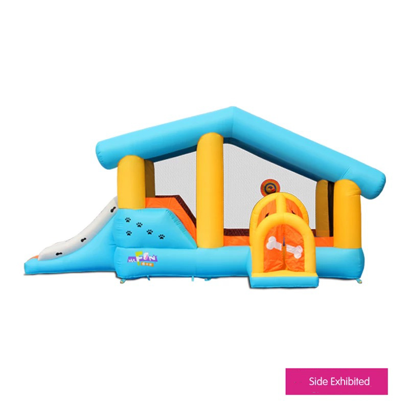 HTB1wceXPFXXXXbgaXXXq6xXFXXXa - Mr. Fun Kids Dog Bouncy Inflatable Bounce House Big Slide Combo with Blower