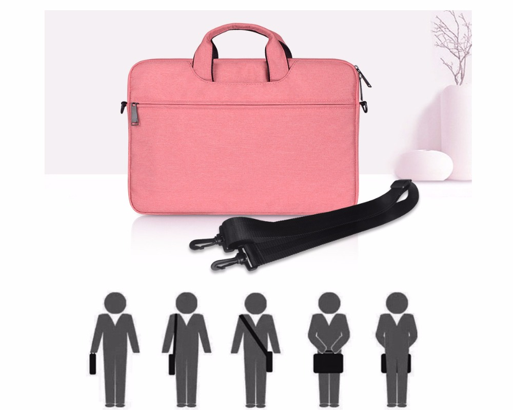 13 14 15.4 15.6 Inch Shoulder Handbag Computer Bags Waterproof Messenger Women Men Notebook Bag Case for Dell HP Macbook Xiaomi