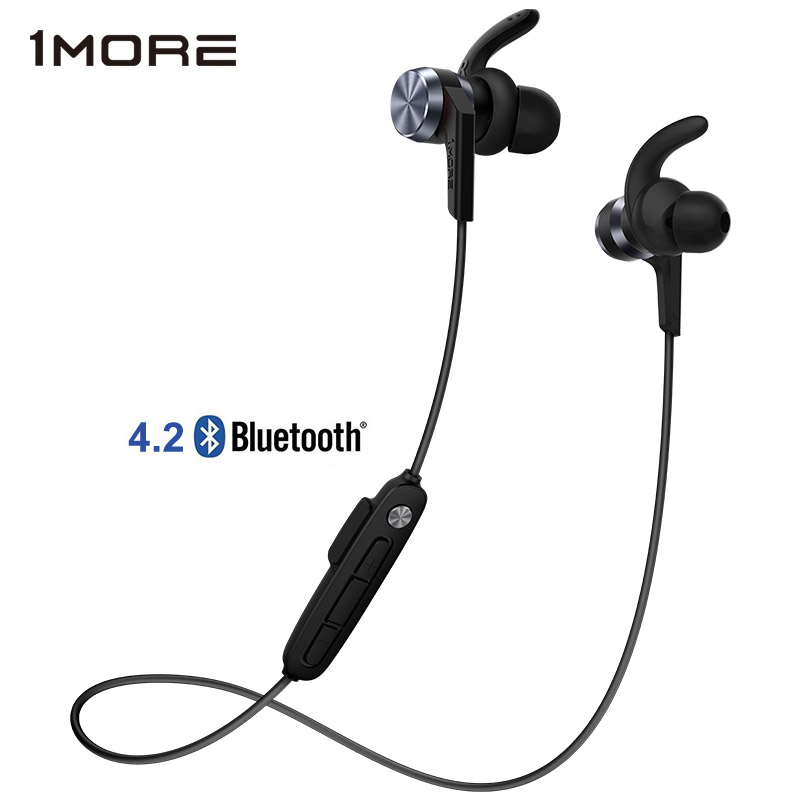 1 PIÙ iBFree Senza Fili di Bluetooth 4.2 Auricolare In-Ear IPX6 impermeabile Sport Corsa e Jogging bluetooth v4.2 Auricolare Auricolari con Il Mic E1018BT