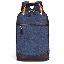2016 Retro men backpack luxury brand in men casual daypacks Men bag backpack Travel backpack