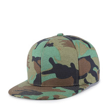 New Cotton Print Camo Hip Hop Hat Men 4 Colors Choose 1pcs Drop Shippping camo print mixed