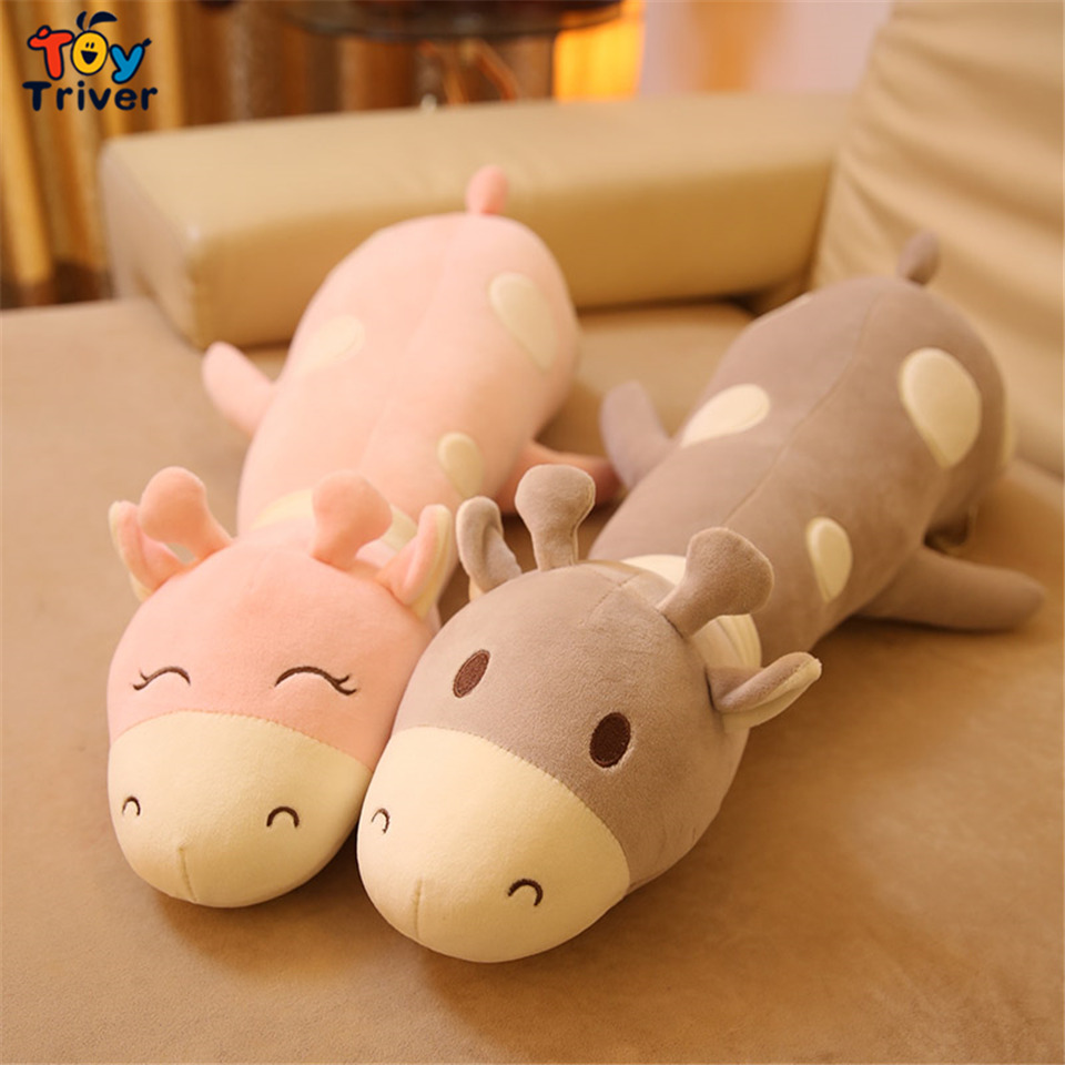 65cm Plush Giraffe toy stuffed animal toys doll cushion pillow kids baby friend birthday gift present home Deco Triver cute poodle dog plush toy good quality stuffed animal puppy doll model soft doll kids gift baby toy christmas present