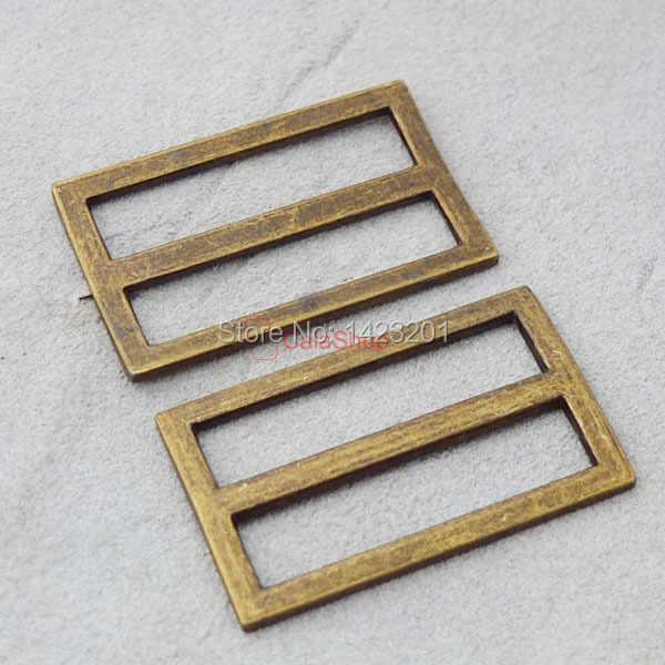 """1.5 """" 38 mm 20 pçs/lote ajustador Triglides lâminas de couro correia Webbing Nickel Bronze escolha F159 frete grátis"""
