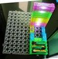 Retângulo do farol Kits DIY controle pressão circuito kit crianças Kits modelo de blocos de construção de circuito ciência kids brinquedos 20 PCS