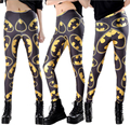 NEW Fashion Women's batman logo USA super hero prints elastic bodybuilding sexy Girl Leggings Pants