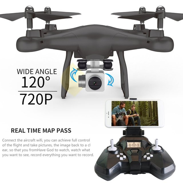 RC drone SMRC S10 2.4G RC Quadrocopter Drone With 720P HD Camera FPV WIFI Quadcopter Professional Remote Control Aircraft Toys!