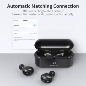 Image 5 - FLOVEME Mini TWS Wireless Headphones Bluetooth 5.0 Earphone Sport Earphones Headset 3D Stereo Sound Earbuds Micro Charging Box