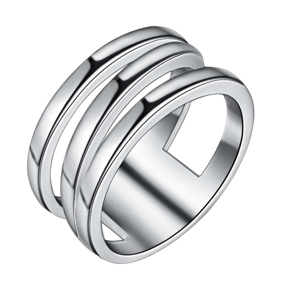 sparkling beautiful Silver plated Ring Fashion Jewerly Ring Women&Men , /KOBEBEWW HGUCMNCF