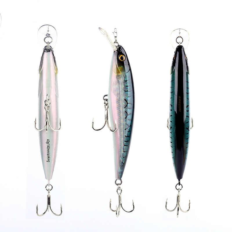 Regno di Mare Esche Da Pesca Minnow 14 centimetri 40g di Qualità Professionale Dura stick esche attrezzatura da pesca esca artificiale modello 5382
