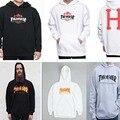 thrasher hoodie men tracksuit Fleece sweatshirt long sleeve felpa thrasher skateboards pull trasher hoodies ASSC Hoodies S-3XL
