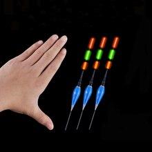 浅水鯉 & フナ夜釣りフロート LED 電気フロート釣具発光電子フロート + CR425 バッテリー