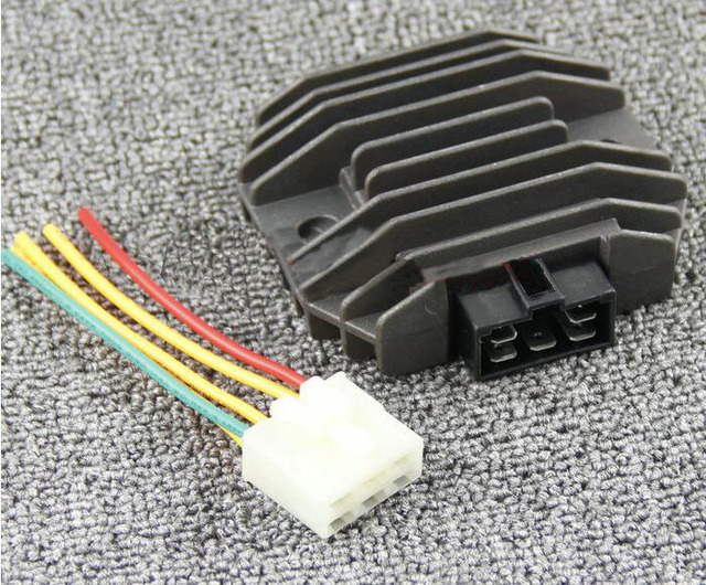 US $30 99  Voltage Regulator Rectifier Suitable for Yamaha YZF R1 1999 2001  YZF R6 1998 2002 FZR600 94 95 YZF600 96 05-in Motorbike Ingition from