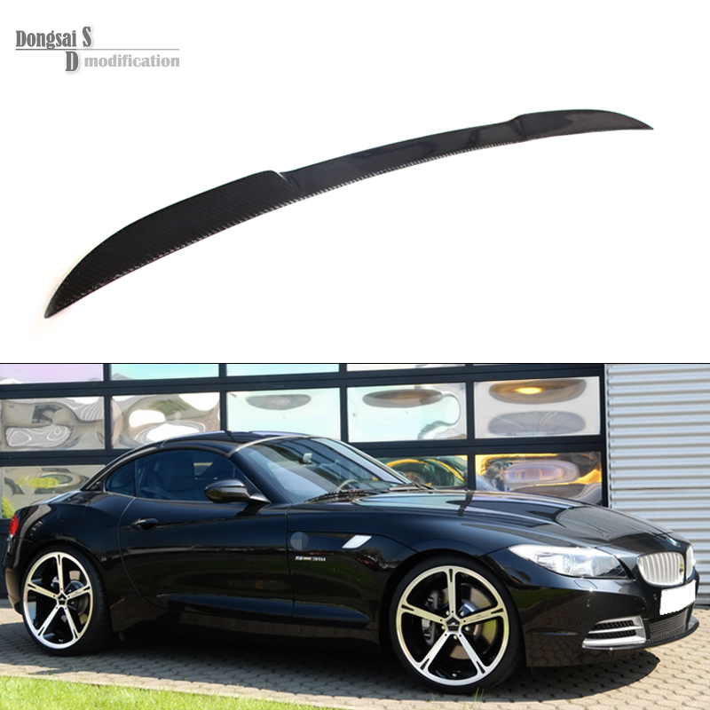 Z4 Series E89 Carbon Fiebr Rear Trunk Wings Spoiler For