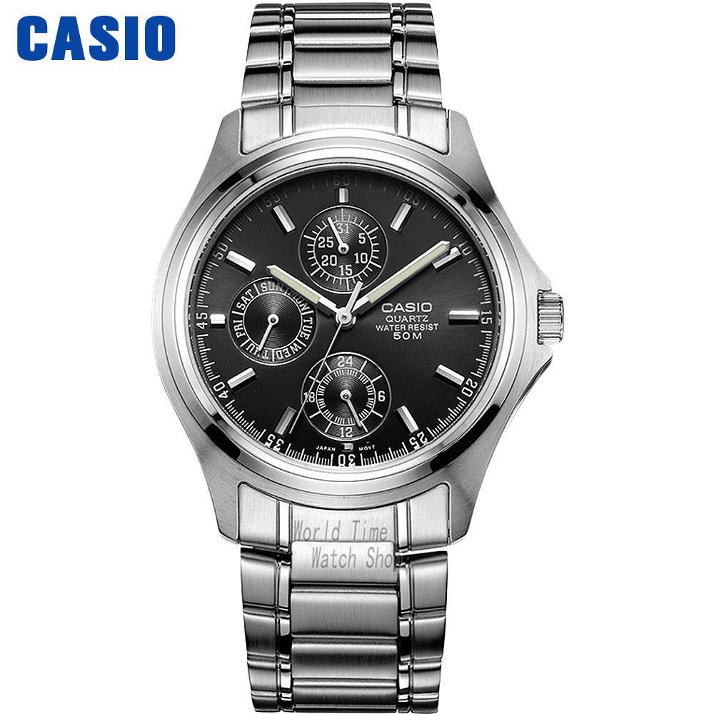 Casio watch Simple leisure three waterproof quartz men's watch MTP-1246D-1A MTP-1246D-2A MTP-1246D-7A