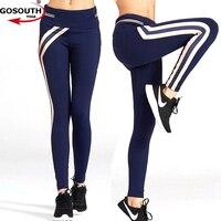 2017 High Quality Brand Women Yoga Pants Net Yarn Splicing Yoga Capris For Running Sport Quick