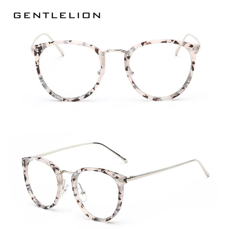 7c8963dae1 Vintage Oversized Round Glasses Frame For Women Men Eyeglasses Frames Men  Clear Fake Glasses Eyewear Oculos Optical Frame 8128