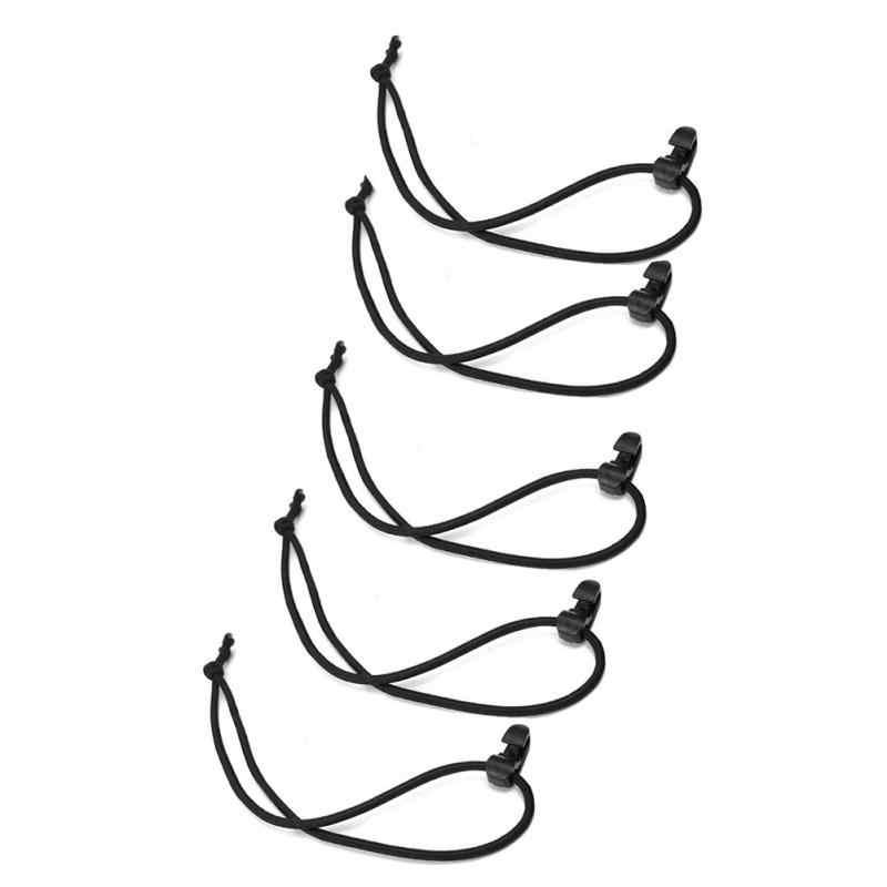 1 sztuk przenośny 19.5 cm elastyczna lina hak klamra pakiet na świeżym powietrzu plecak naprawiono taśmy drutu kabel Bungee krawaty hak