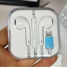 50 pieces/lot Earphones with Mic Wired Bluetooth Earphone for IPhone 8 7 Plus X XR XS Max smartphone stereo in-ear earpiece