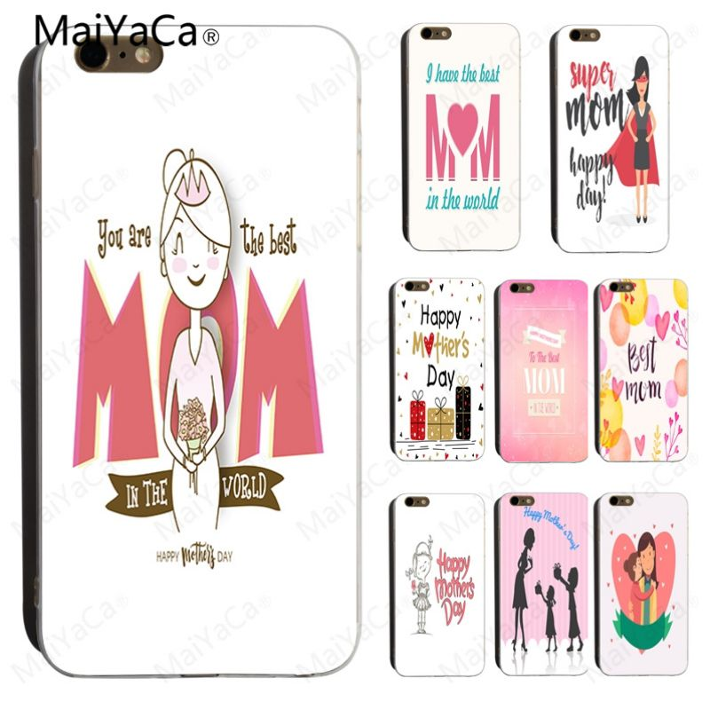 MaiYaCa You are Best Mom in the World Mountain Super Mommy On Sale Luxury Cool <font><b>PhoneCase</b></font> for <font><b>iPhone</b></font> X 6 6S 7 <font><b>7plus</b></font> 8 8Plus 5 5S image